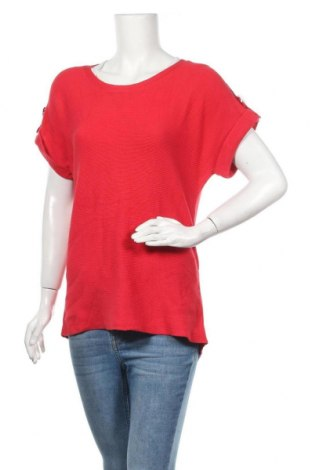 Γυναικείο πουλόβερ Monari, Μέγεθος L, Χρώμα Κόκκινο, 50% βαμβάκι, 50% πολυακρυλικό, Τιμή 22,90€