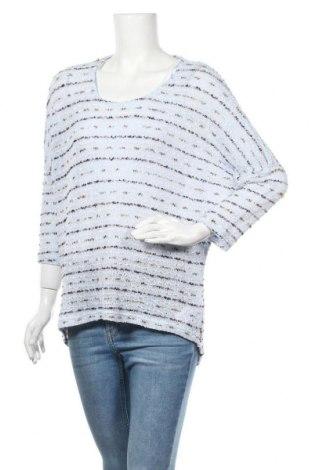 Γυναικείο πουλόβερ Soya Concept, Μέγεθος L, Χρώμα Μπλέ, 60% βαμβάκι, 30% πολυαμίδη, 10% πολυεστέρας, Τιμή 10,00€