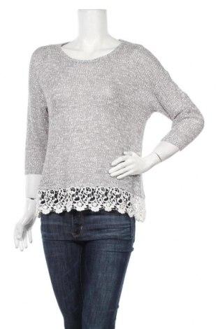 Γυναικείο πουλόβερ Suzanne Grae, Μέγεθος S, Χρώμα Γκρί, Πολυεστέρας,ακρυλικό, πολυαμίδη, Τιμή 4,48€