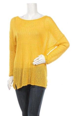 Γυναικείο πουλόβερ Tom Tailor, Μέγεθος XL, Χρώμα Κίτρινο, Τιμή 10,23€