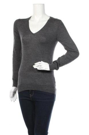 Дамски пуловер Uniqlo, Размер M, Цвят Сив, Цена 17,64лв.