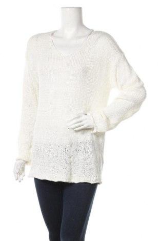 Γυναικείο πουλόβερ Up 2 Fashion, Μέγεθος L, Χρώμα Λευκό, 62%ακρυλικό, 38% πολυαμίδη, Τιμή 8,18€