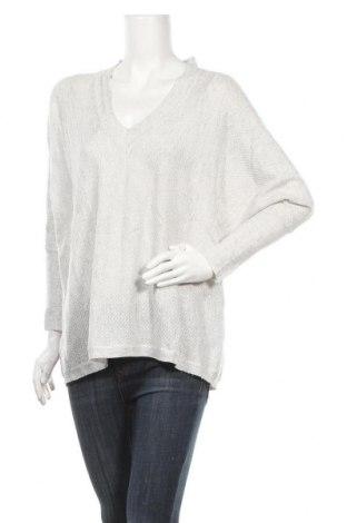 Γυναικείο πουλόβερ Version Feminin, Μέγεθος XL, Χρώμα Γκρί, 40% πολυεστέρας, 22%ακρυλικό, 26% πολυαμίδη, 8% μεταλλικά νήματα, 4% μαλλί, Τιμή 4,68€