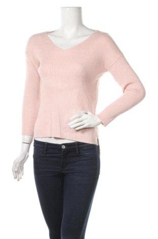 Γυναικείο πουλόβερ Vg, Μέγεθος S, Χρώμα Ρόζ , 52% βισκόζη, 28% πολυεστέρας, 20% πολυαμίδη, Τιμή 16,66€