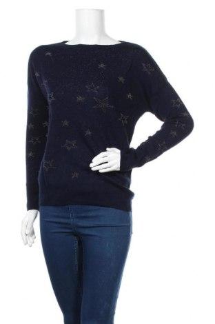 Γυναικείο πουλόβερ Yessica, Μέγεθος S, Χρώμα Μπλέ, 91%ακρυλικό, 5% μεταλλικά νήματα, 4% πολυεστέρας, Τιμή 14,29€