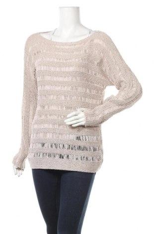 Дамски пуловер Zavanna, Размер L, Цвят Бежов, 63% акрил, 37% полиамид, Цена 6,56лв.