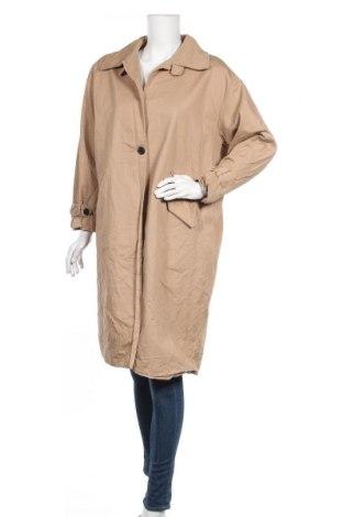 Дамски шлифер, Размер XL, Цвят Бежов, Цена 18,94лв.