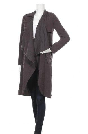 Дамски шлифер, Размер S, Цвят Сив, Цена 8,66лв.
