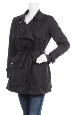 Дамски шлифер Breal, Размер L, Цвят Черен, 55% полиестер, 10% полиамид, 35% памук, Цена 24,57лв.