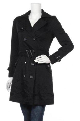 Дамски шлифер Camaieu, Размер M, Цвят Черен, 65% полиестер, 35% памук, Цена 29,40лв.