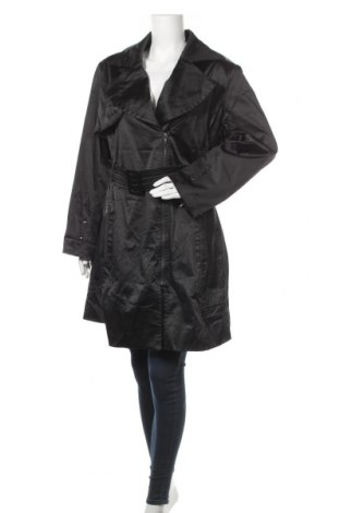 Дамски шлифер City Chic, Размер L, Цвят Черен, Полиестер, еластан, Цена 19,04лв.