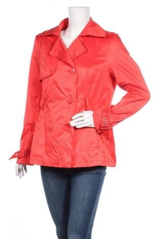 Дамски шлифер Clockhouse, Размер XXL, Цвят Червен, 50% памук, 50% полиестер, Цена 18,82лв.