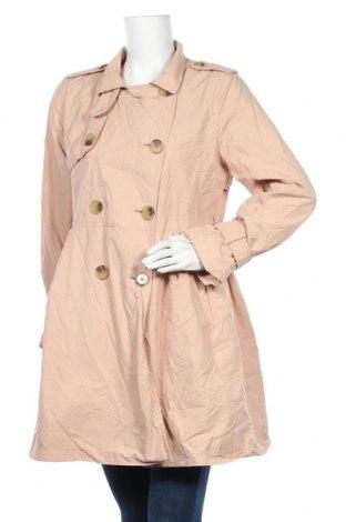 Дамски шлифер Gap, Размер M, Цвят Бежов, 60% памук, 40% полиамид, Цена 12,86лв.