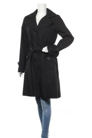 Дамски шлифер H&M, Размер L, Цвят Черен, 65% полиестер, 35% памук, Цена 25,83лв.