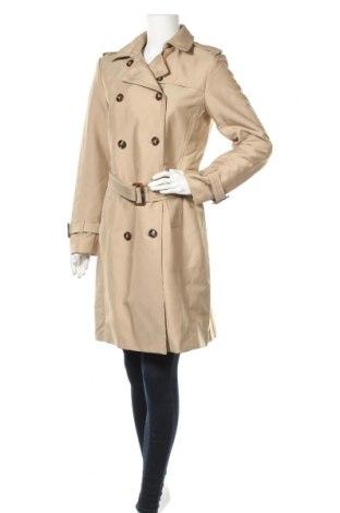 Дамски шлифер H&M, Размер M, Цвят Бежов, 51% полиестер, 44% памук, 5% полиамид, Цена 42,00лв.
