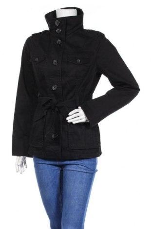Дамски шлифер H&M, Размер M, Цвят Черен, 98% памук, 2% еластан, Цена 19,85лв.