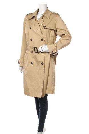 Дамски шлифер H&M B'B, Размер L, Цвят Бежов, 65% полиестер, 35% памук, Цена 38,75лв.