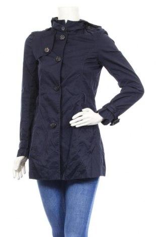 Дамски шлифер H&M Divided, Размер S, Цвят Син, Цена 17,96лв.