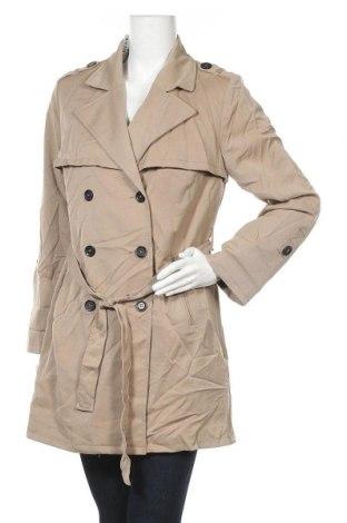 Дамски шлифер H&M Divided, Размер M, Цвят Бежов, 80% полиестер, 18% вискоза, 2% еластан, Цена 14,97лв.