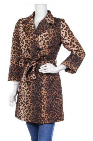 Дамски шлифер JV Selection, Размер M, Цвят Кафяв, Полиестер, Цена 23,94лв.