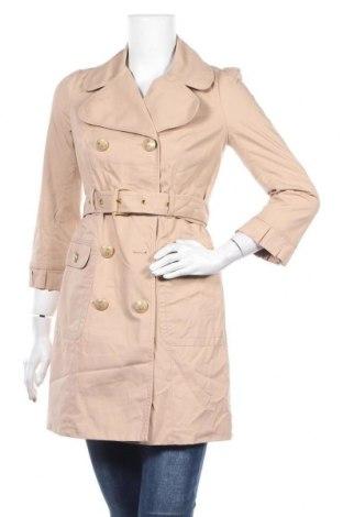Дамски шлифер Juicy Couture, Размер S, Цвят Бежов, 98% памук, 2% еластан, Цена 24,89лв.