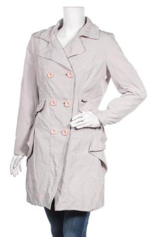 Дамски шлифер Kensol, Размер L, Цвят Сив, Полиестер, Цена 38,35лв.