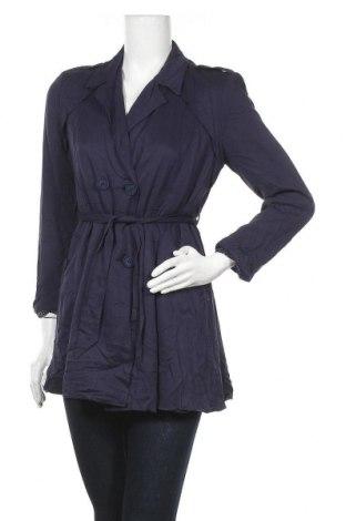 Дамски шлифер Living Doll, Размер M, Цвят Син, Вискоза, Цена 9,98лв.