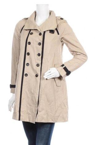 Дамски шлифер Mango, Размер S, Цвят Бежов, Памук, Цена 28,56лв.