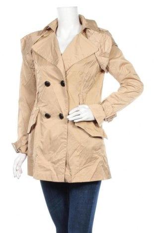 Дамски шлифер Mango, Размер L, Цвят Бежов, 54% полиамид, 43% памук, 3% еластан, Цена 11,03лв.