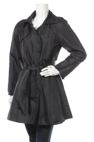 Дамски шлифер Mango, Размер L, Цвят Черен, Полиестер, Цена 42,00лв.