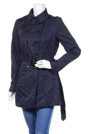Дамски шлифер Mexx, Размер M, Цвят Син, 54% памук, 46% полиамид, Цена 16,17лв.