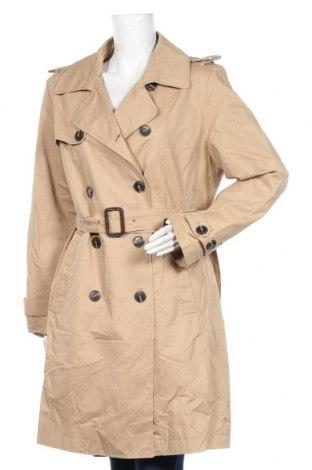 Дамски шлифер Monoprix Autre Ton, Размер XXL, Цвят Бежов, Памук, Цена 43,05лв.