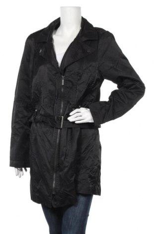 Дамски шлифер Ms Mode, Размер XXL, Цвят Черен, 60% памук, 40% полиамид, Цена 11,55лв.