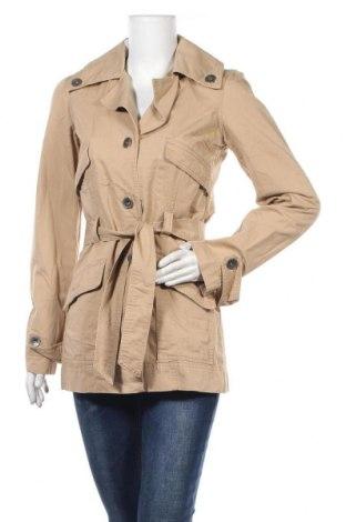 Дамски шлифер ONLY, Размер S, Цвят Бежов, 73% памук, 27% лен, Цена 14,97лв.