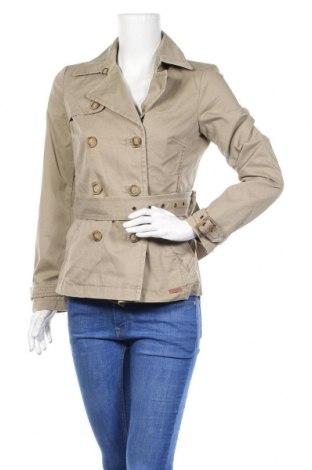 Дамски шлифер Playlife, Размер S, Цвят Бежов, Памук, Цена 36,96лв.