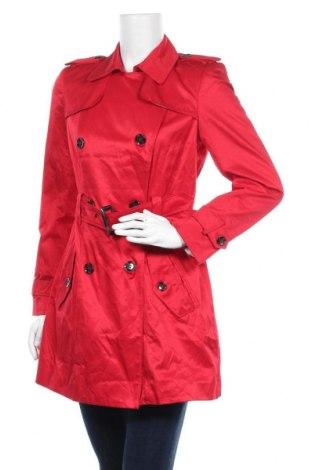 Дамски шлифер Portmans, Размер M, Цвят Червен, 57% памук, 43% полиестер, Цена 78,80лв.