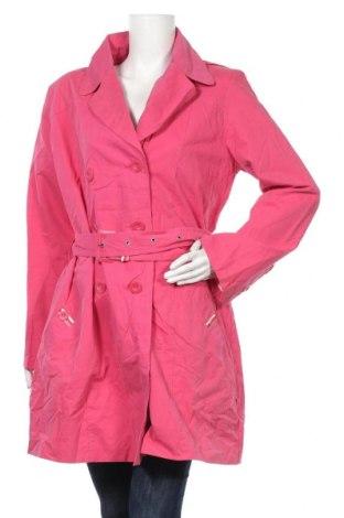 Дамски шлифер TCM, Размер XL, Цвят Розов, 72% памук, 28% полиамид, Цена 45,89лв.