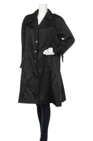 Дамски шлифер Va Milano, Размер XL, Цвят Черен, 55% полиамид, 45% памук, Цена 37,49лв.