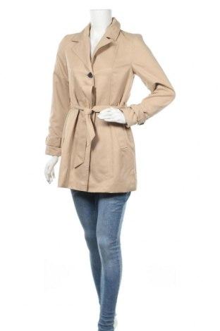 Дамски шлифер Vero Moda, Размер S, Цвят Бежов, Полиестер, Цена 66,75лв.
