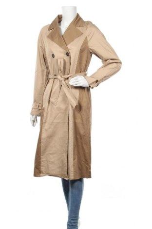Дамски шлифер Vero Moda, Размер S, Цвят Бежов, Памук, Цена 48,95лв.