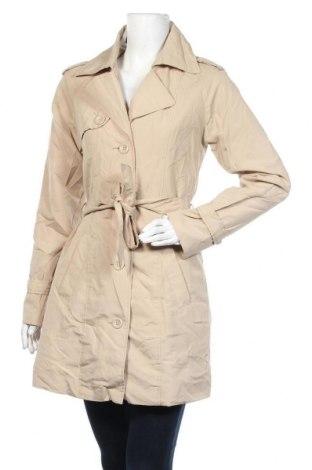 Дамски шлифер Vero Moda, Размер M, Цвят Бежов, 100% полиестер, Цена 37,91лв.