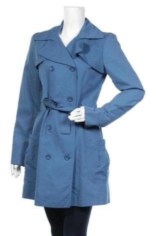 Дамски шлифер Vero Moda, Размер M, Цвят Син, 100% полиестер, Цена 49,56лв.