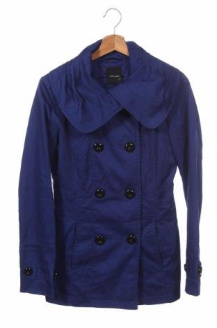 Дамски шлифер Vero Moda, Размер XS, Цвят Син, 65% полиестер, 35% памук, Цена 22,21лв.