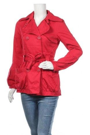 Дамски шлифер Vero Moda, Размер S, Цвят Червен, Памук, Цена 13,67лв.