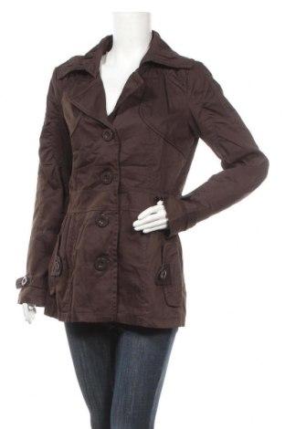 Дамски шлифер Vero Moda, Размер L, Цвят Кафяв, 65% полиестер, 35% памук, Цена 15,93лв.