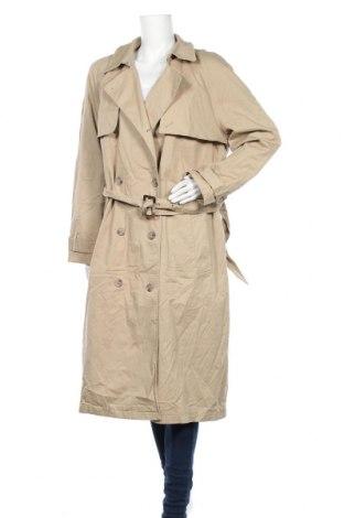 Дамски шлифер Yessica, Размер XXL, Цвят Бежов, 97% памук, 3% еластан, Цена 44,10лв.