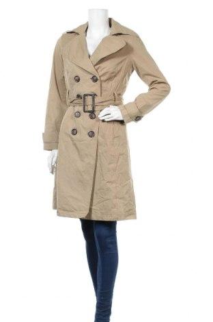 Дамски шлифер Zara, Размер M, Цвят Бежов, 66% полиестер, 34% памук, Цена 24,26лв.