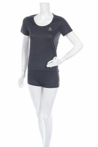 Дамски спортен комплект Odlo, Размер S, Цвят Сив, Полиестер, Цена 38,35лв.