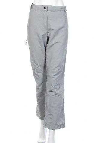 Γυναικείο αθλητικό παντελόνι Crivit, Μέγεθος XL, Χρώμα Γκρί, Πολυαμίδη, Τιμή 8,22€