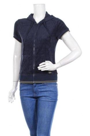 Дамски суичър Juicy Couture, Размер M, Цвят Син, 56% вискоза, 24% памук, 20% полиестер, Цена 47,25лв.